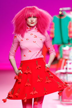 Color prints by Agatha Ruiz de la Prada