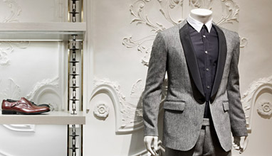 Bespoke and made-to-measure mens suits from Alexander McQueen