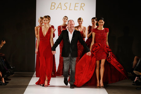 BASLER's tour de force collection for Fall/Winter 2014