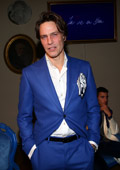 Exceptional Blue Carpet for the new Bugatti Fall/Winter 2014-15 Collection