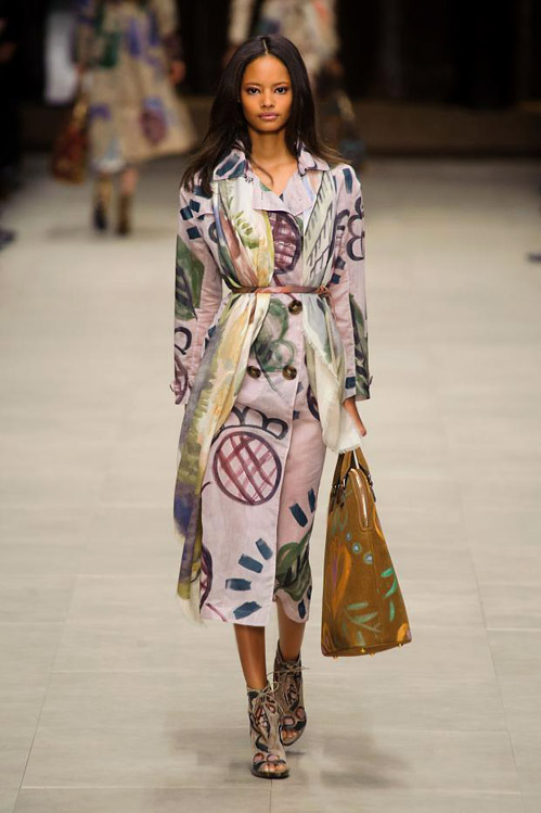 Womenswear for Fall-Winter 2014/2015 by Burberry Prorsum
