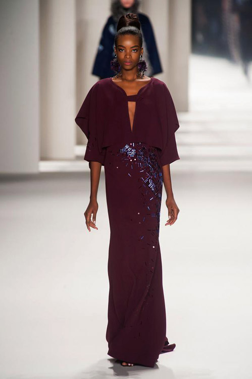 Elegance And Style During The Mbfw In Carolina Herrera