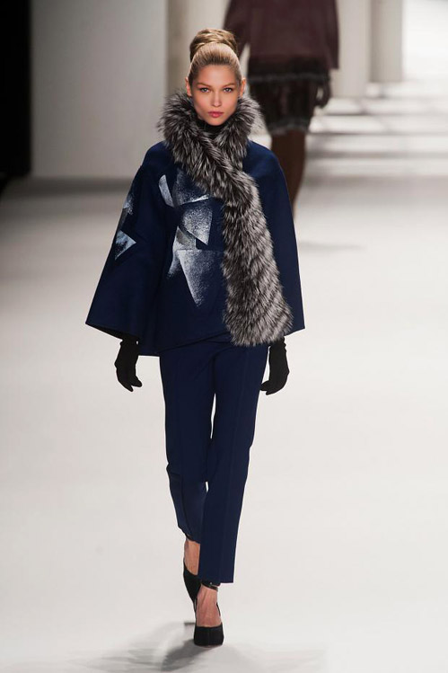Elegance and style during the MBFW in Carolina Herrera Fall-Winter 2014/2015 collection
