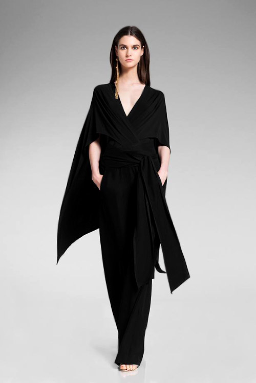 Femininity and elegance in Donna Karan Resort 2014