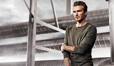 David Beckham stars in new campaign for H&M