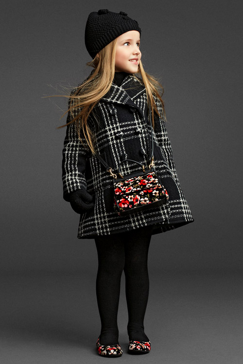 Dolce & Gabbana Fall-Winter 2013/2014 Girls wear