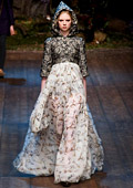 Beautiful fairy tale by Dolce & Gabbana for Fall-Winter 2014/2015