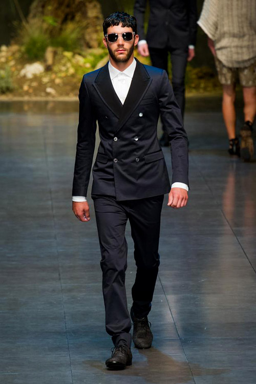 Spring-Summer 2014 Menswear collection by Dolce & Gabbana