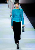 Emporio Armani womenswear collection for Fall-Winter 2014/2015