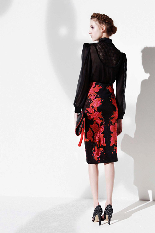Fall-Winter 2014/2015 collection by the London based designer Ekaterina Kukhareva