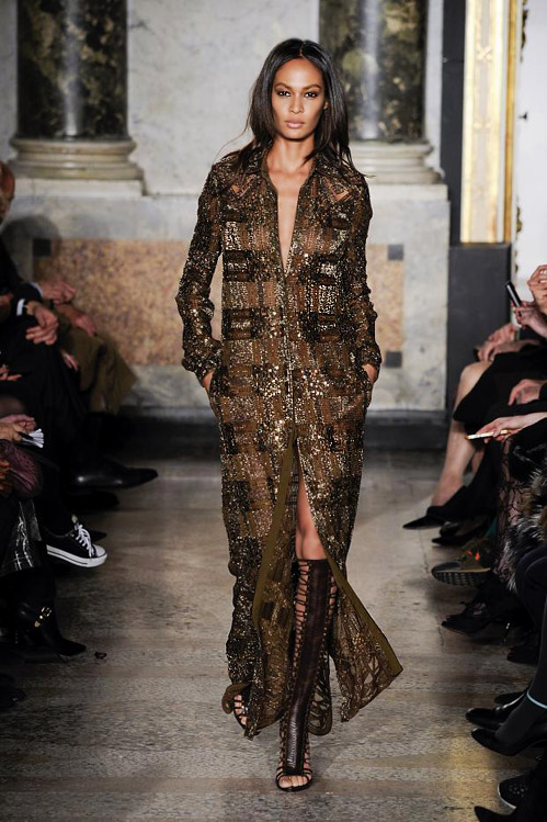 'Call of the Wild' by Emilio Pucci for Fall-Winter 2014/2015