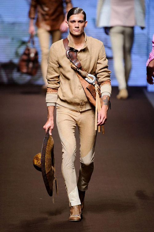 Men's fashion: Etro for Spring-Summer 2014