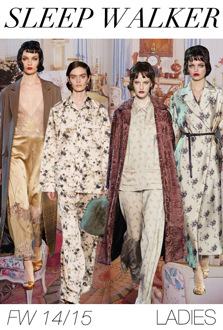 trend forecast: Fall-Winter 2014/2015 themes from TREND COUNCIL