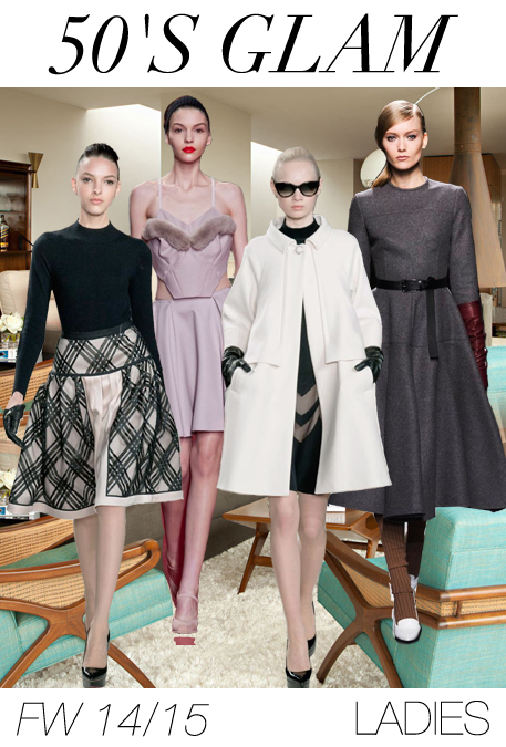 Women's fashion trend forecast: Fall-Winter 2014/2015 themes from TREND COUNCIL