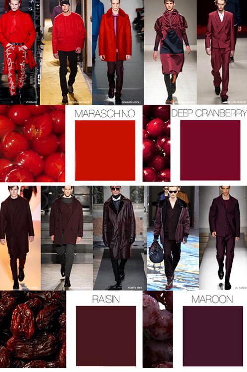 Fall Winter 2017 2016 Fashion Trends Menswear Colors