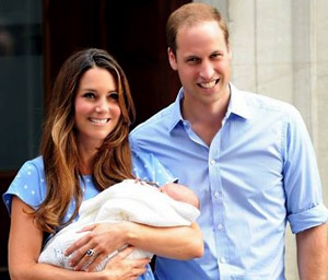 Royal baby's name is George Alexander Louis