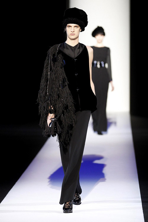 Fall/Winter 2013-2014 Womenswear and Accessories Collection by Giorgio Armani