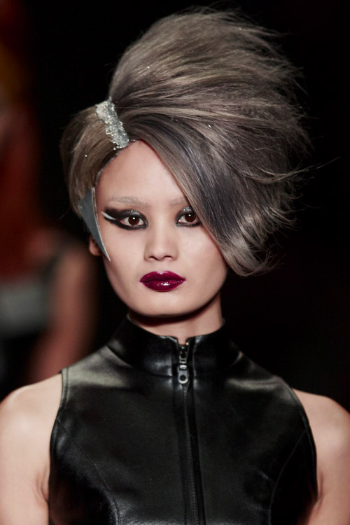 Hairstyle as an Art during the Mercedes Benz China Fashion Week
