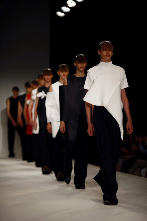 J.W. Anderson with Spring-Summer 2014 Menswear Collection