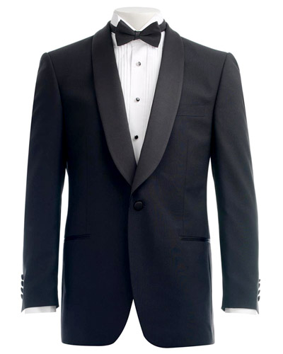 Men's jacket lapel types