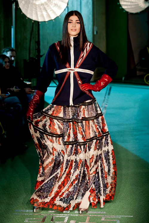 'Rosbifs in Space' by Jean Paul Gaultier for Fall-Winter 2014/2015