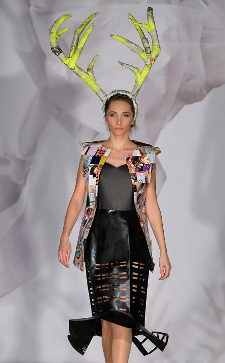 Junk Fashion Show 2014 in Poland