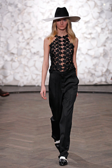 KAVIAR GAUCHE Autumn/Winter 2015 at Mercedes-Benz Fashion Week Berlin