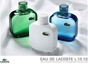 Lacostе presented its new fragrance collection L.12.12