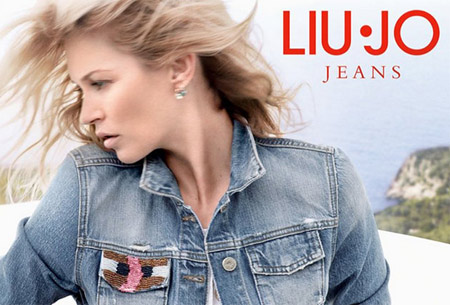 Kate Moss for Liu Jo Spring/Summer 2014