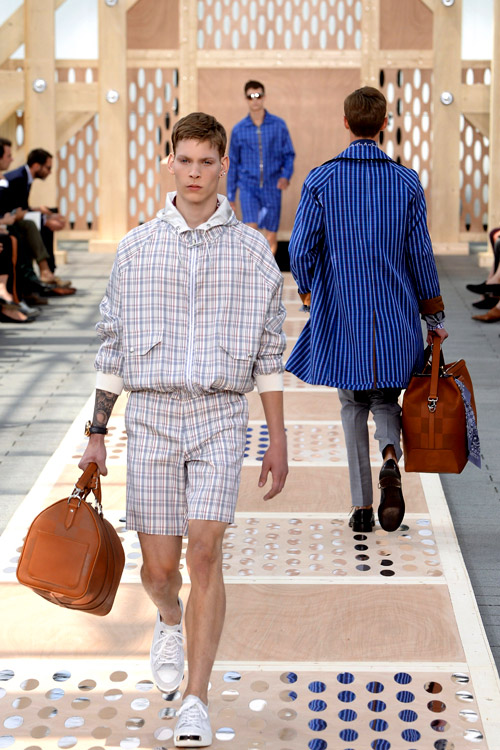 Spring-Summer 2014 menswear collection by Louis Vuitton