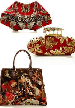 Alexander McQueen Fall/Winter 2010/2011 accessories.