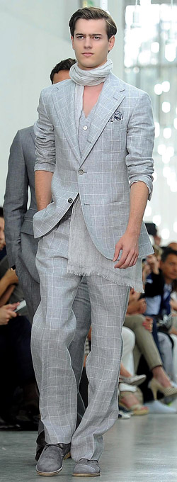 Men's suit trends for Spring-Summer 2013