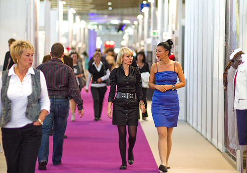 Style and latest trends dominated the Fashion Fair in Poznań
