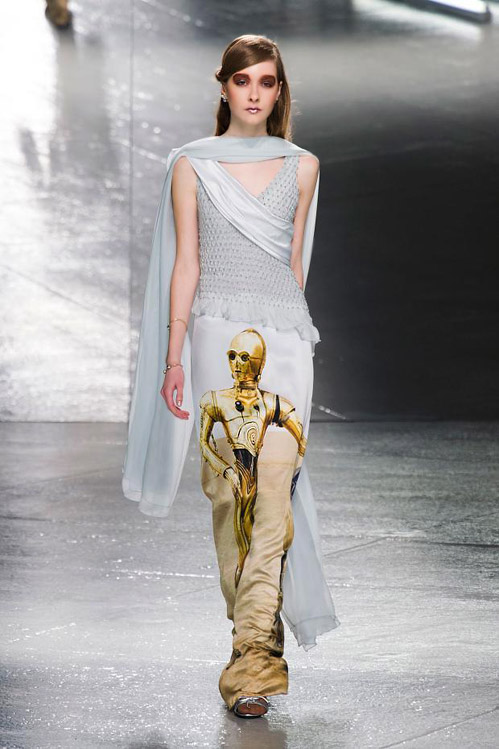 MBFW: Knitting, sequins and 'Star Wars' for Fall-Winter 2014/2015 by Rodarte