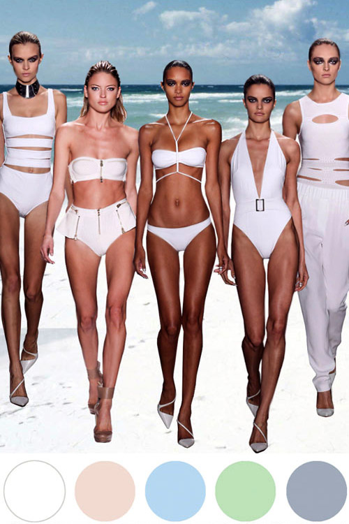 Fashion trends for Spring-Summer 2015: Swimwear