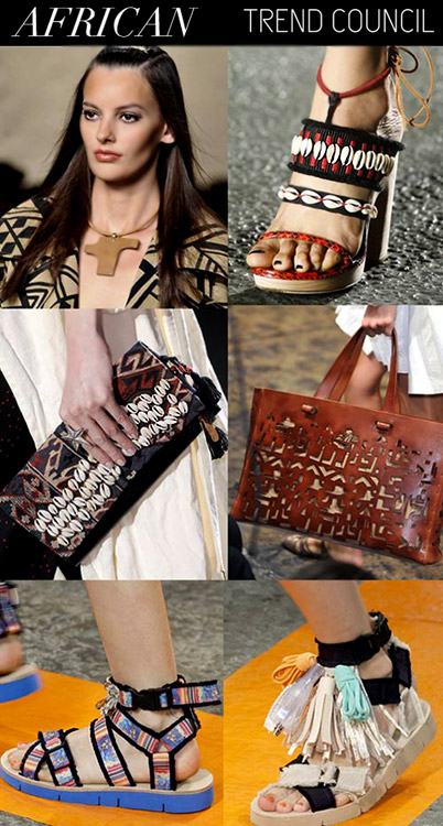 Fashion trends Spring-Summer 2015: Women's accessories pattern