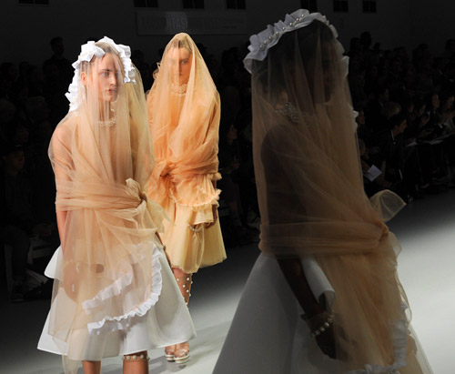 Spring-Summer 2014 collection by Simone Rocha