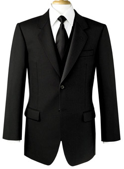 What are the different types of men's suits?