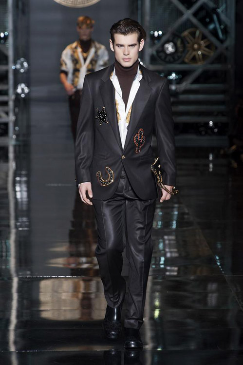 Men's fashion: Versace for Fall-Winter 2014/2015