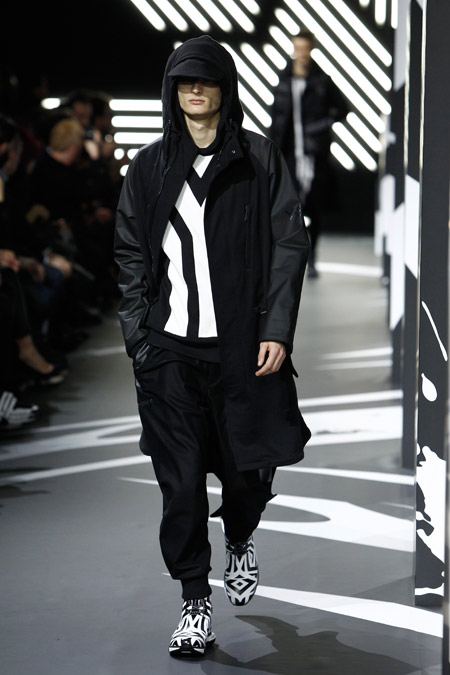 Y-3 Autumn/Winter 2014 - Paris Fashion Show
