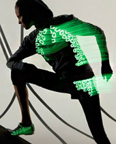 Stella McCartney designed glow-in-the-dark sportswear line for Adidas