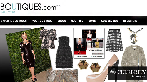 Online fashion revolution with Boutiques.com - a new way to shop online