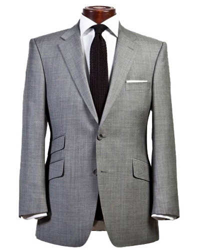 Types of men's suit coat pockets