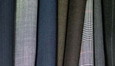 Which are the most common men's suit patterns?