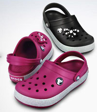 Crocs - one of the ugliest but most comfortable shoes in the world
