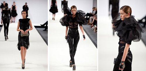 Young designers presented their work in London