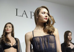 Jean Paul Gaultier created a special luxury collection of lingerie for La Perla