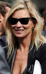 Kate Moss has created a jewelry line for the chain stores Topshop