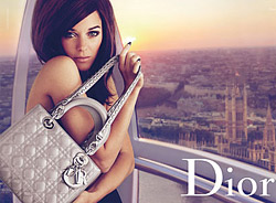 The latest Lady Dior campaign is titled Lady Grey