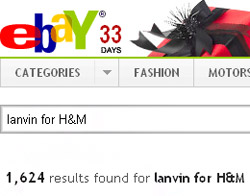Lanvin for H&M collection launched in select stores